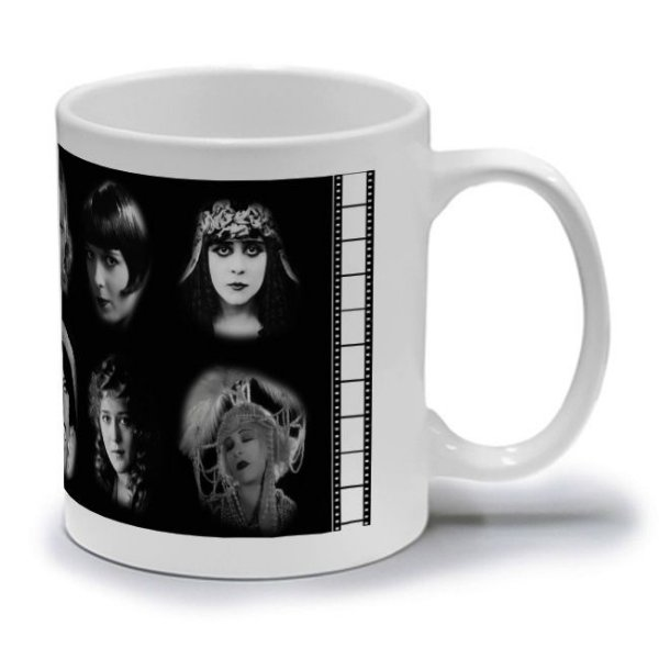 SILENT MOVIE QUEENS  - CANECA