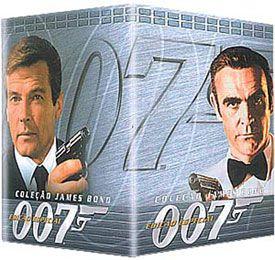 COLEÇÃO JAMES BOND VOL. 2- 007 EDIÇÃO ESPECIAL (10 DVD's)