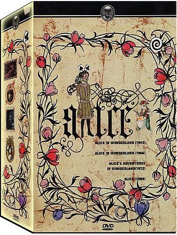 COLEÇÃO ALICE - 4 DVDs