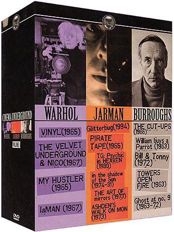 COLEÇÃO CINEMA UNDERGROUND - 4 DVDs