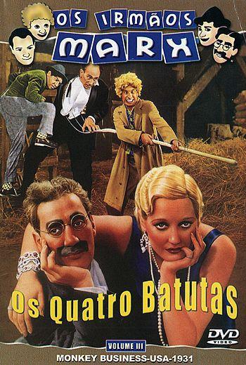OS IRMÃOS MARX - OS QUATRO BATUTAS