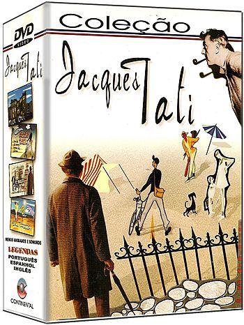 COLEÇÃO JACQUES TATI - 4 DVDS