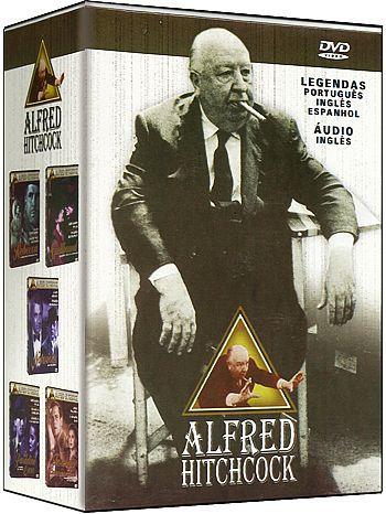 COLEÇÃO ALFRED HITCHCOCK - 5 DVDS