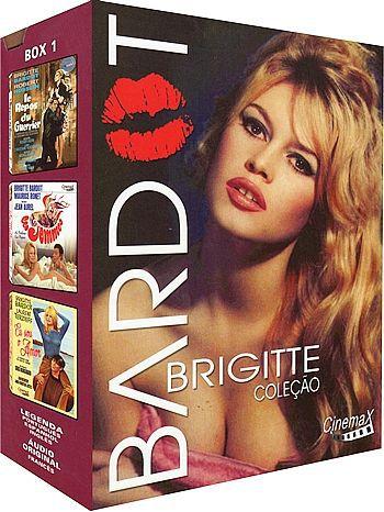 COLEÇÃO BRIGITTE BARDOT VOL. 1 - 3 DVDS