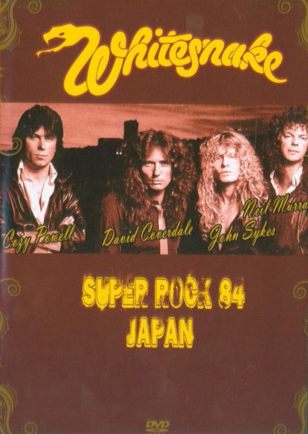 WHITESNAKE - SUPER ROCK 84 JAPAN (DVD)