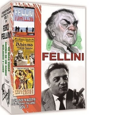 COLEÇÃO FELLINI - I GRANDI MAESTRI DEL CINEMA ITALIANO VOL.1
