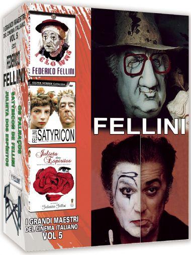 COLEÇÃO FELLINI - I GRANDI MAESTRI DEL CINEMA ITALIANO VOL.5