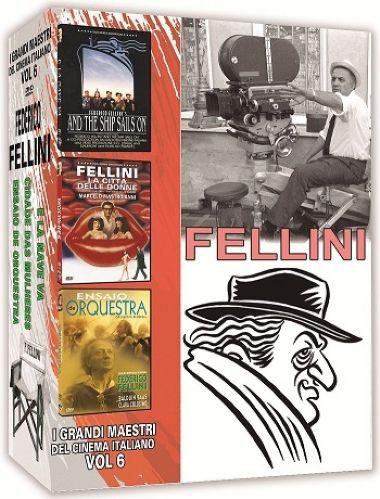 COLEÇÃO FELLINI - I GRANDI MAESTRI DEL CINEMA ITALIANO VOL.6