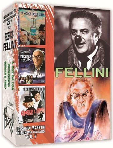 COLEÇÃO FELLINI - I GRANDI MAESTRI DEL CINEMA ITALIANO