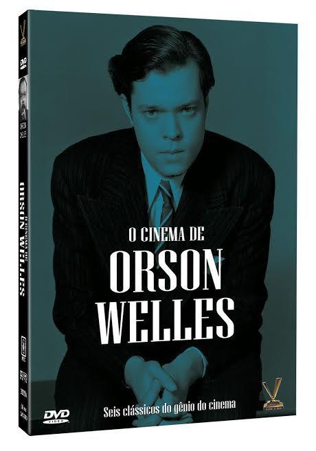 O CINEMA DE ORSON WELLES (Digistack com 3 DVDs)