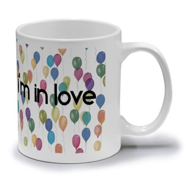 IT'S FRIDAY I'M IN LOVE  - CANECA