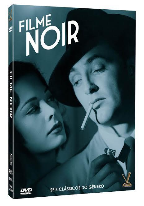 FILME NOIR VOL. 1 (Amaray com 3 DVDs + Luva)