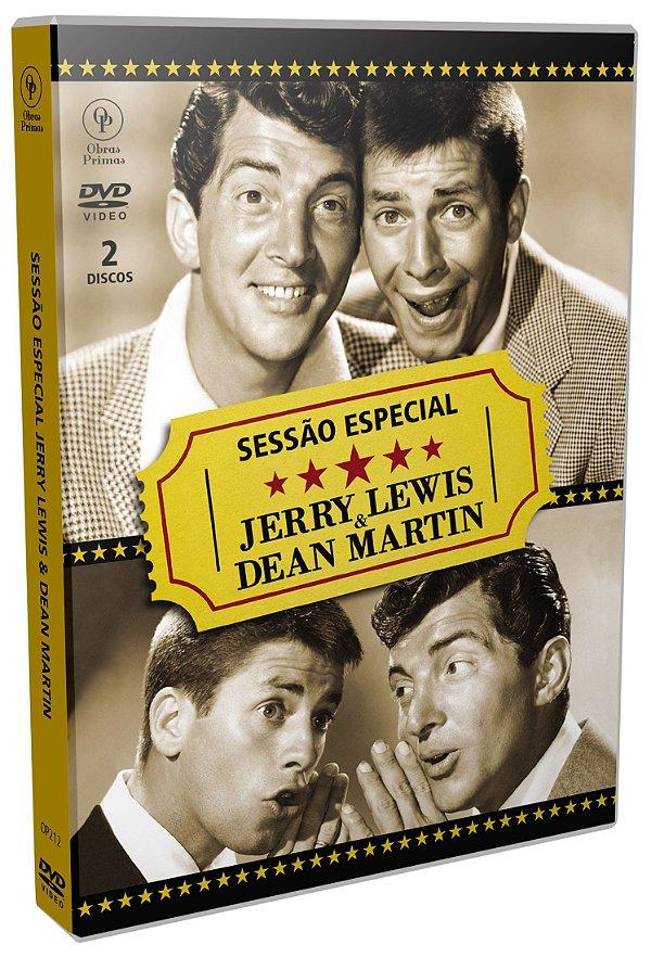SESSÃO ESPECIAL JERRY LEWIS & DEAN MARTIN (AMARAY COM 2 DISCOS)