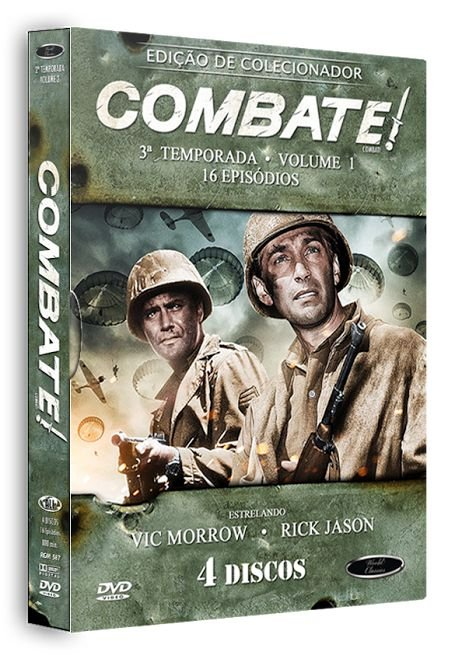 COMBATE! 3ª TEMPORADA - VOLUME 1