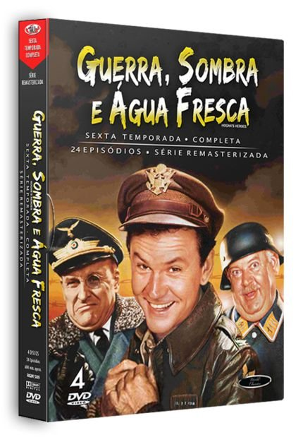 GUERRA, SOMBRA E ÁGUA FRESCA - 6ª TEMPORADA COMPLETA (1965/71)