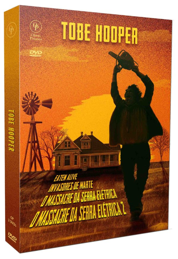 TOBE HOOPER - DIGISTACK COM 3 DVD's