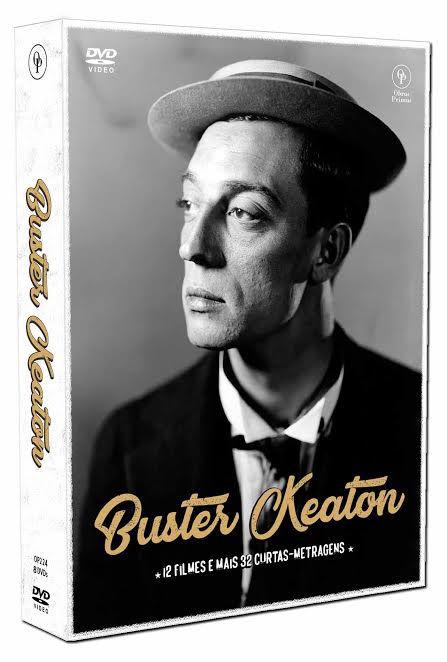 BUSTER KEATON - EDIÇÃO ESPECIAL (DIGIPAK COM 8 DVD'S) - ENTREGA PREVISTA 18/12/17