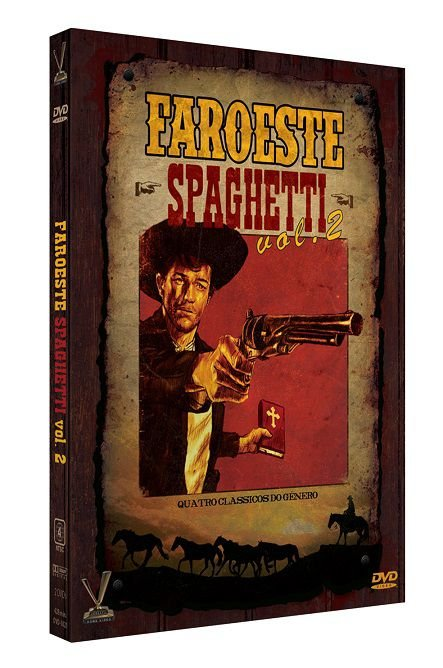 FAROESTE SPAGHETTI VOL. 2 - ED. LIMITADA C/ 4 CARDS (DIGISTACK 2 DVDs)