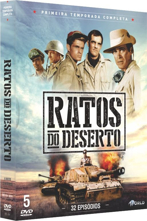 RATOS DO DESERTO - 1ª TEMPORADA COMPLETA