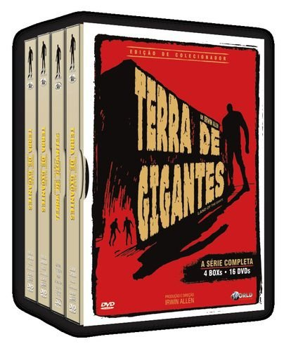 TERRA DE GIGANTES - A SÉRIE COMPLETA