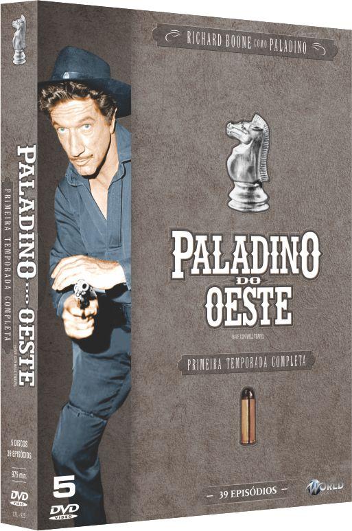 PALADINO DO OESTE - PRIMEIRA TEMPORADA COMPLETA