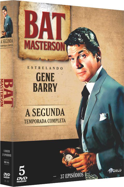 BAT MASTERSON A SEGUNDA TEMPORADA COMPLETA