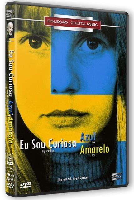 EU SOU CURIOSA - AZUL  E AMARELO