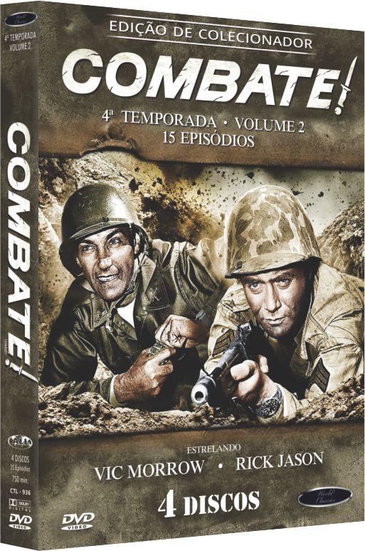 COMBATE ! 4º TEMPORADA VOL 2  -  ENTREGA PREVISTA PARA A PARTIR DE 10/12/2018