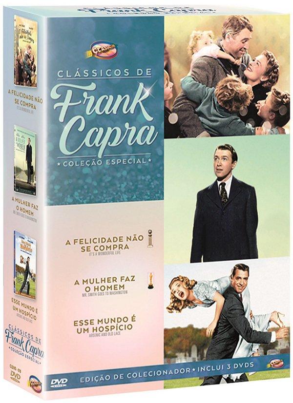 COLEÇÃO CLÁSSICOS DE FRANK CAPRA