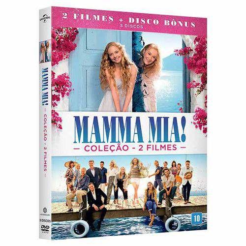 COLEÇÃO MAMMA MIA! - 2 FILMES - 3 DISCOS