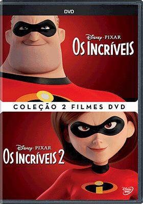 COLEÇÃO INCRÍVEIS - 2 DVDS