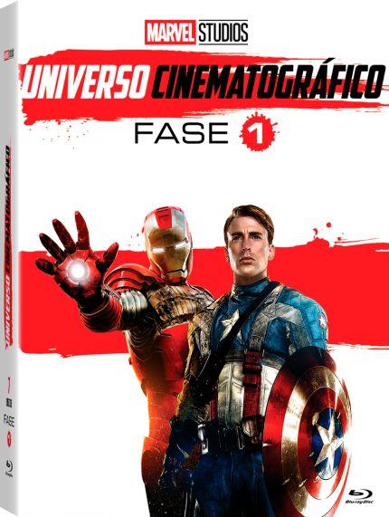 DVD MARVEL UNIVERSO CINEMATOGRÁFICO - FASE 1