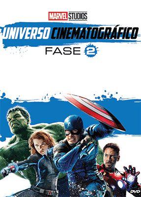 DVD MARVEL UNIVERSO CINEMATOGRÁFICO - FASE 2