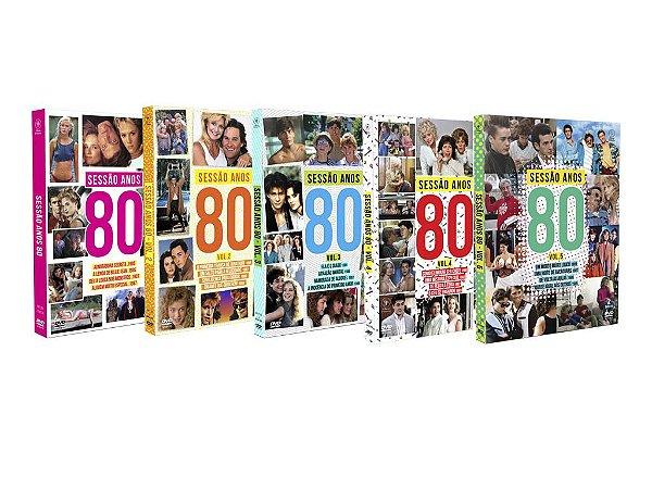 COMBO SESSÃO ANOS 80 - VOL. 1 - VOL. 5