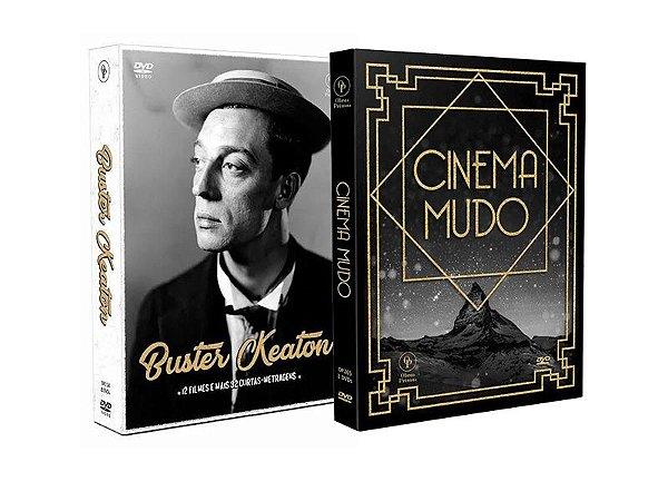 COMBO - CINEMA MUDO + BUSTER KEATON