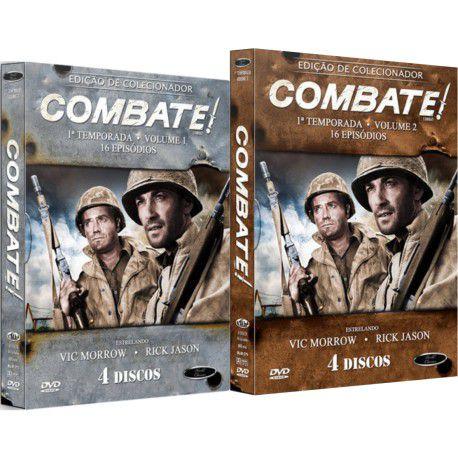 COMBO - COMBATE! PRIMEIRA TEMPORADA COMPLETA (2 BOXES)