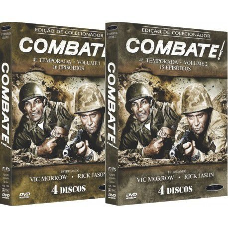 COMBO - COMBATE! QUARTA TEMPORADA COMPLETA (2 BOXES)