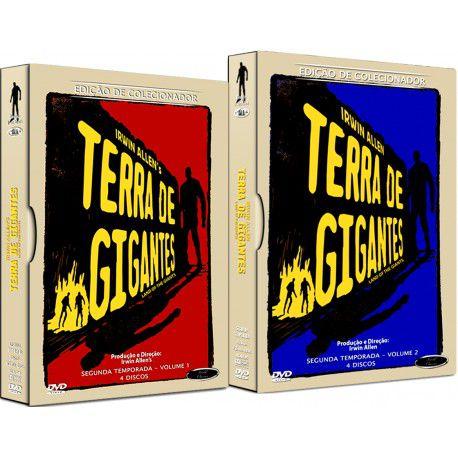 COMBO - TERRA DE GIGANTES SEGUNDA TEMPORADA COMPLETA (2 BOXES)