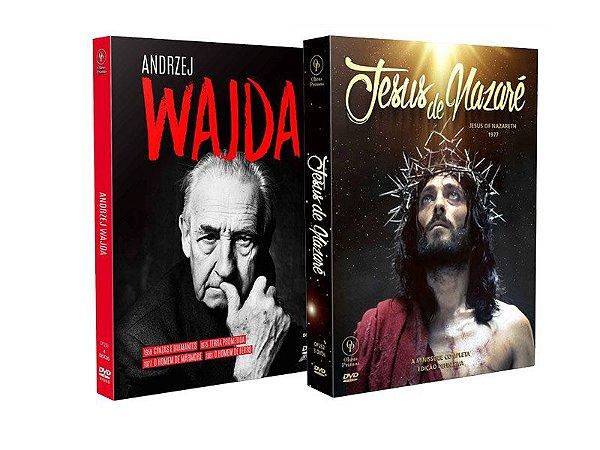 COMBO - JESUS DE NAZARÉ + ANDRZEJ WAJDA - ENTREGA PREVISTA PARA A PARTIR DE 15/04/2019