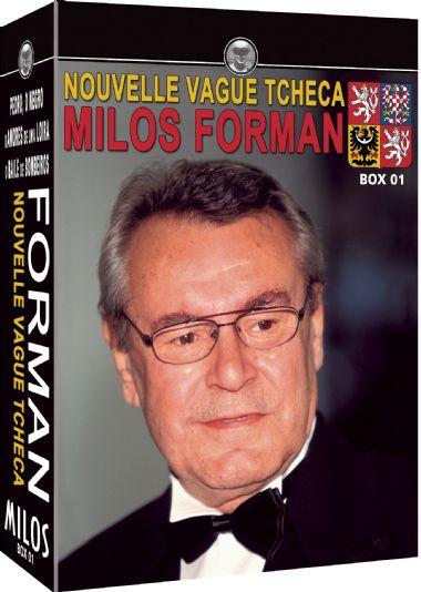 COLEÇÃO MILOS FORMAN -  BOX 01 PEDRO, O NEGRO / OS AMORES DE UMA LOIRA / O BAILE DOS BOMBEIROS