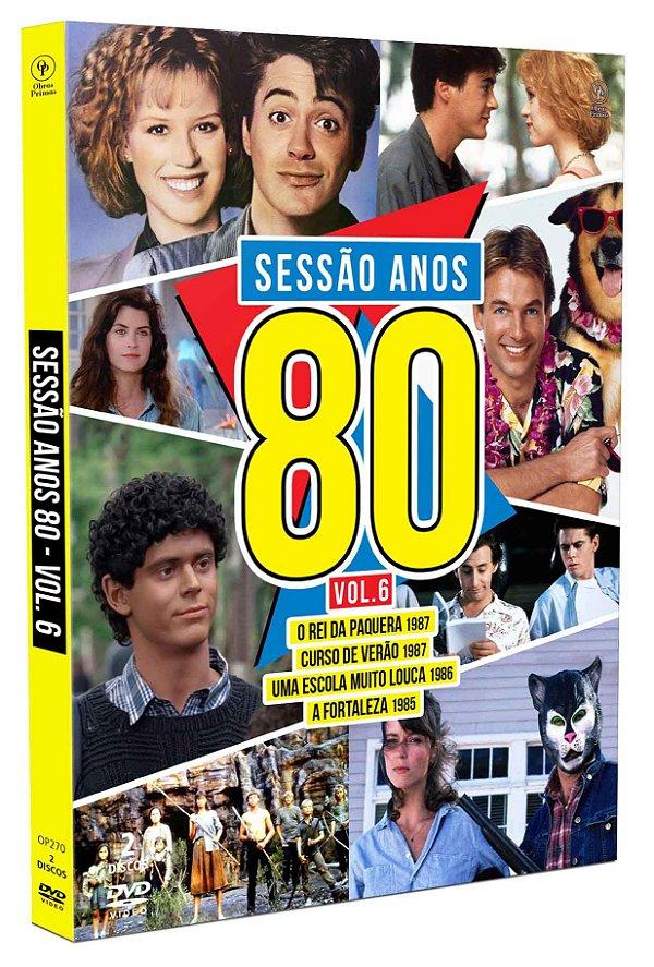 SESSÃO ANOS 80 - VOLUME 06 - ENTREGA PREVISTA PARA A PARTIR DE 21/05/2019