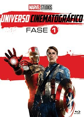 MARVEL UNIVERSO CINEMATOGRÁFICO - FASE 1 (BLU-RAY)