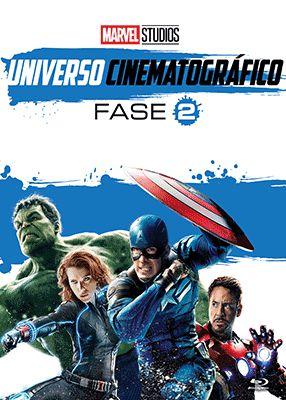 MARVEL UNIVERSO CINEMATOGRÁFICO - FASE 2 (BLU-RAY)