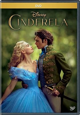 CINDERELA 2015 (DVD)