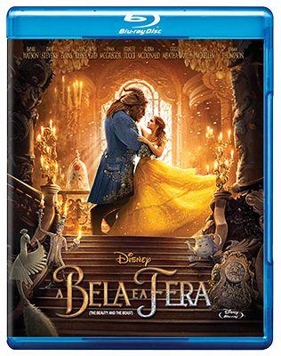 A BELA E A FERA (2017)  (BLU-RAY)