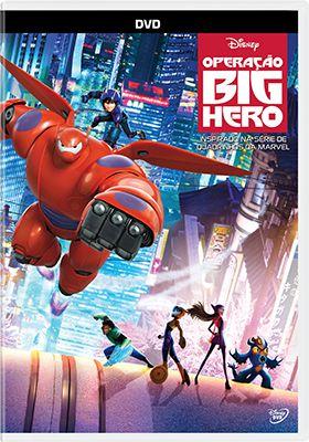 OPERAÇÃO BIG HERO - DVD