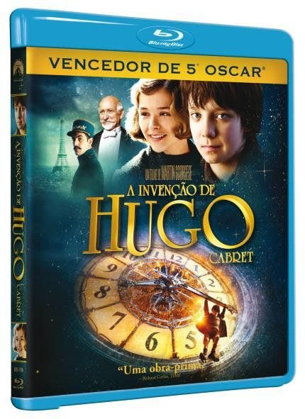 A INVENÇÃO DE HUGO CABRET - BD