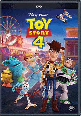 TOY STORY 4  (DVD) - ENTREGA PREVISTA PARA A PARTIR DE 18/10/2019