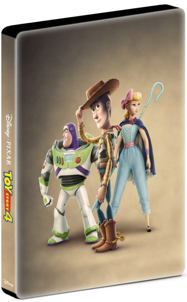 TOY STORY 4  (STEELBOOK 2 DISCOS BD)