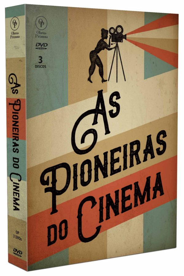 AS PIONEIRAS DO CINEMA - 3 DISCOS